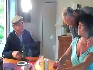 French Gangbang Mature