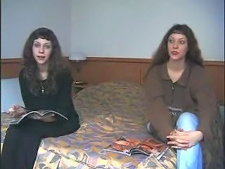 Amateur Brunette Russian Twins