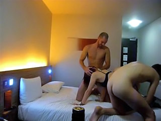 hotel threesome hubby with best friend fucking hottest