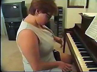 Nasty piano teacher is getting brutally fucked