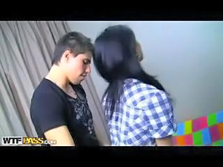 Hot students sex party action
