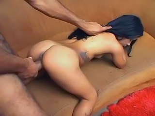Brazilian Midget Melissa Takes enormously giant Black Cock