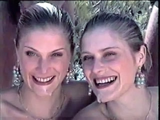 Cumshot Facial Groupsex Twins Vintage