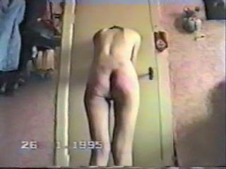 Crazy amateur spanking on cam