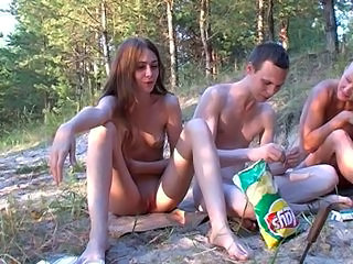 Amateur Nudist Outdoor Russian Teen
