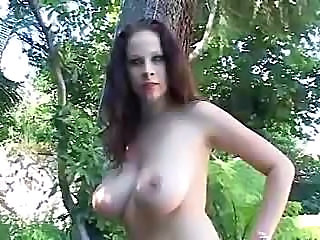 Big Tits Creampie Outdoor Pornstar