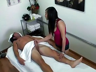 Ariel Rose gives a sensual massage