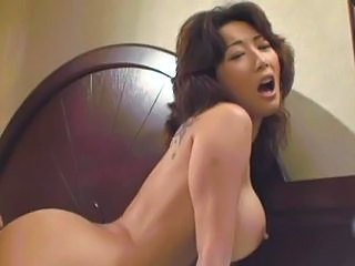 Amazing Asian Big Tits Creampie Mature
