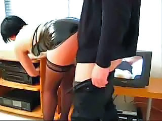 Ass Latex Secretary Stockings