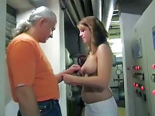 Crazy German Bitch Makes Her Boss Pay