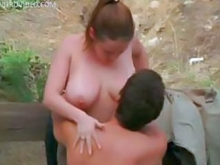 This nubile Mandy Fisher and her massive natural breasts