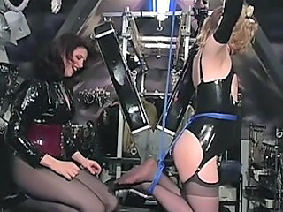 Submissive Cross Dresser Diane Gets Tied and Tickled To Death