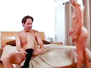 He bangs small titty milf