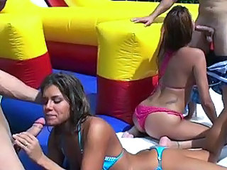 Bella Beyle And Rio In An Amazing Foursome