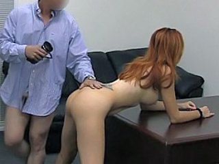 Bent over a desk and fucked slow and hard