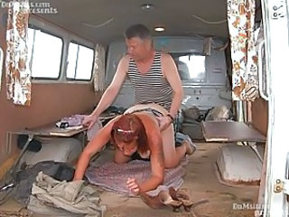 Vagabond Kolya, 57 years old, lives on an attic, great idler, hasn't washed for 2 months, once he, with friends, has been invited to work on farm, on the way there he has tempted a nice milkmaid who h