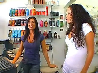 Hot Latinas at the Tanning Salon
