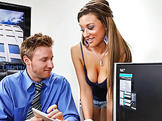 Carmen's desperate for a job and this waitressing gig's her last hope. Levi interviews her for a job at Boobers and tests her tits to see how well they perform when being subjected to ice cubes and be