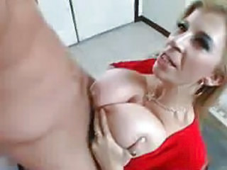 Sara Jay fucks her sons friend