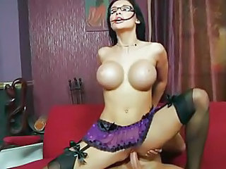 Sexy hot Aletta Ocean is getting screwed on her lovely hole until she cums