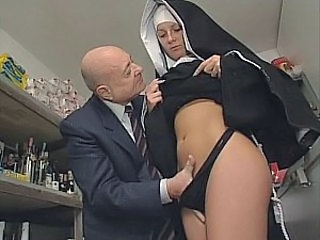 Nun Old and Young Uniform