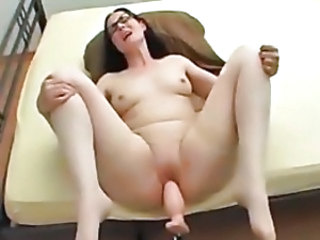 Nice Dildo Machine Orgasm