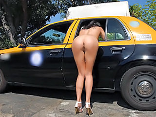 Voodoo offered to share his cab ride with Danica who was waiting for one herself. After some small talk and a few innuendoes from Voodoo, Danica was spilling all her dirty little secrets. Eventually Voodoo got her completely naked in the cab. When Voodoo
