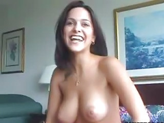 Brunette European Natural Pain