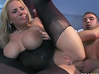 Gorgeous Anal Blonde Alanah Rae Sucks and Fucks Keiran Lee's Big Cock