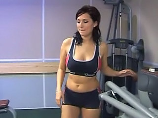 Busty Lea Magic Gets Anal Fucked by her Gym Buddy