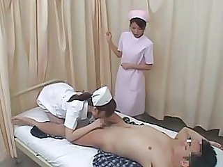 Asian Blowjob Japanese Nurse Uniform
