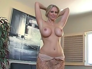 Amazing Big Tits Bus MILF Mom