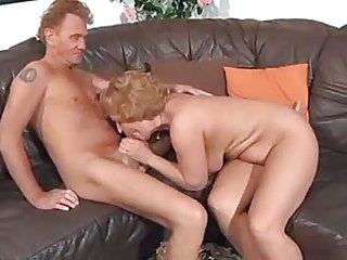 Ancient slut takes cock in her hot box