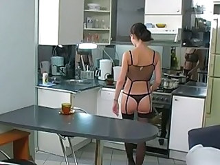 Kitchen Lingerie Stockings