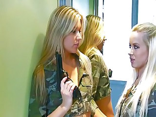 Army Blonde Uniform