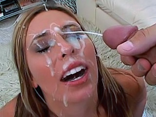 Amazing Bukkake Cumshot Facial