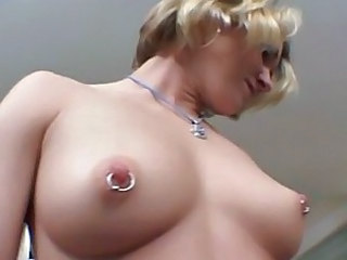 Amateur Anal Blonde Nipples Piercing