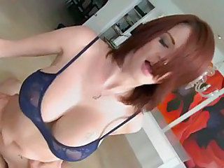 Hot milf Joslyn James getting screwed from behind and loves it