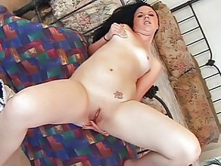 Teen chick fucked in both holes