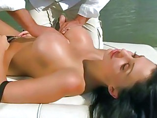 Aletta Ocean enjoying sex on boat