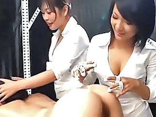 Asian Lesbian Massage Nurse Threesome