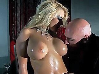 Stunning Madison Ivy Gets Covered In Oil and Facialized - POV Porn Vid