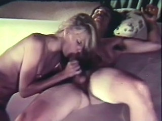 Sexy Babes Suck Cock and Get Fucked in a Wild Retro Orgy