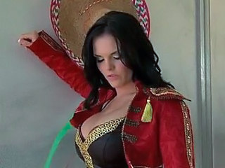 Busty Brunette Mackenzee Pierce Gets Fucked In a Sexy Matador Outfit