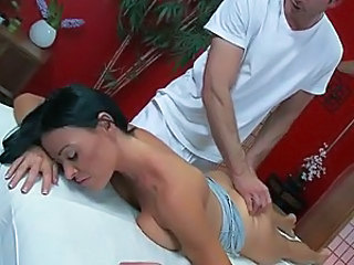 A Massage with MILF Vanilla Deville Ends With A Titty Fuck