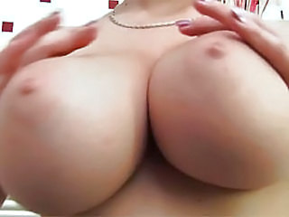 Sexy big boobed brunette gets banged in the bath room