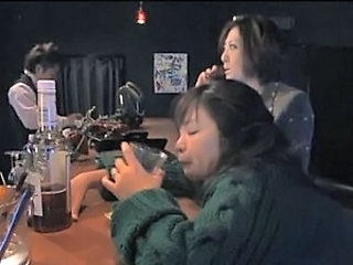 Drunk Asian MILF Rumi Kazama Sucks and Fucks a Cock