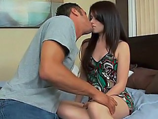 Brunette European Kissing