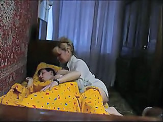 Homemade Mature Mom Sleeping