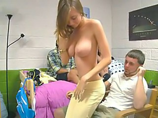 College game becomes hot threesome